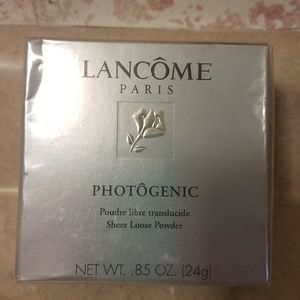 NWT Discontinued Lancome Sheer Powder Soft Bronze